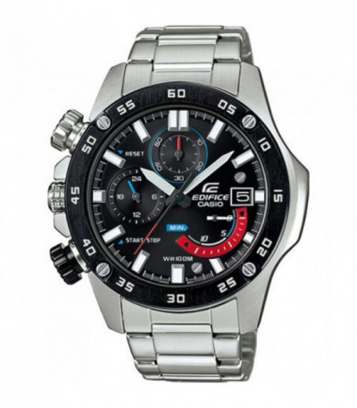 RELOJ CASIO EDIFICE STOPWATCH ACERO EFR-558DB-1AVUEF