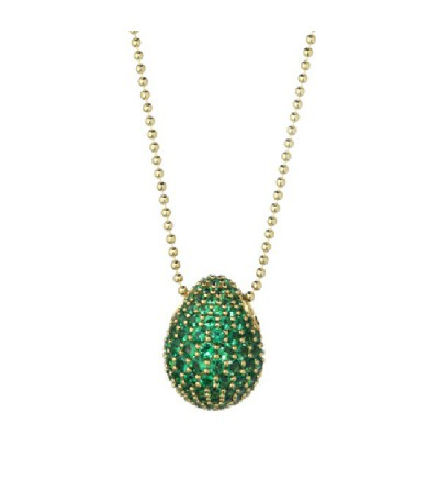 Charm Huevo Tatiana Fabergé Verde GREEN EYES MEDIUM