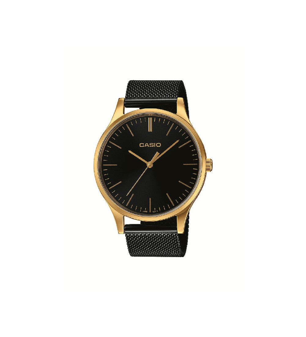 50d3ee12d109 Reloj Casio Collection Negro-Dorado LTP-E140GB-1AEF - Montenegro