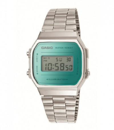 Reloj Casio Collection Retro Azul A168WEM-2EF