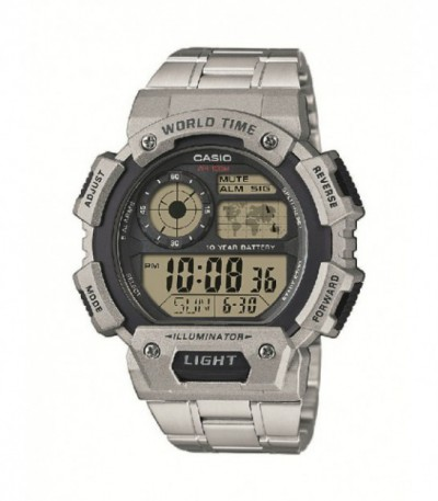Reloj Casio Collection Resina Gris AE-1400WHD-1AVEF