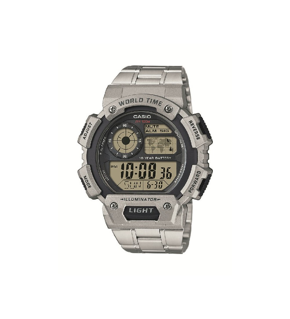 d52a64c1d177 Reloj Casio Collection Resina Gris AE-1400WHD-1AVEF - Montenegro