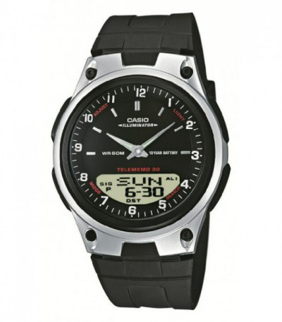 Reloj Casio Collection Anadigital AW-80-1AVES