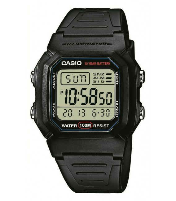 Reloj Casio Collection Digital W-800H-1AVES