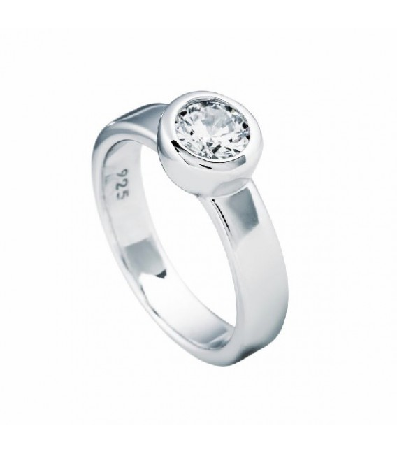 Anillo Diamonfire Solitario Engastado En Bisel - 6.25 Mm 6112311082