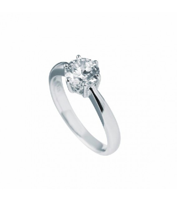 Anillo Diamonfire Solitario Engastado En Garra - 7 Mm 6114881082