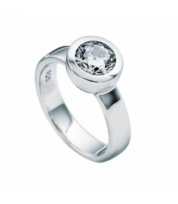 Anillo Diamonfire Solitario Engastado En Bisel - 8 Mm 6112291082