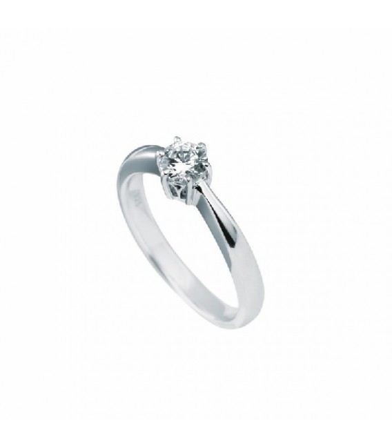 Anillo Diamonfire Solitario Engastado En Garra - 5 Mm 6114851082