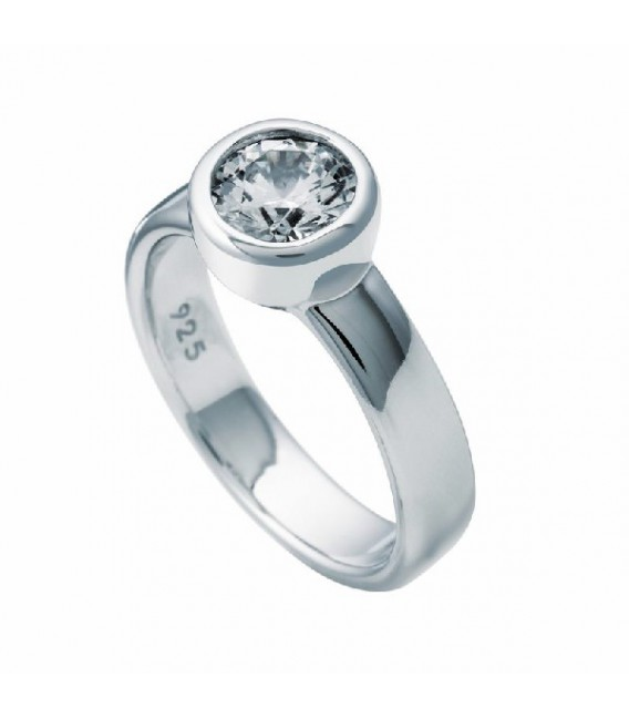 Anillo Diamonfire Solitario Engastado En Bisel - 7 Mm 6112301082