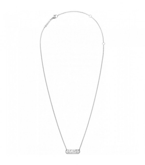 Collar Calvin Klein Message Placa Love KJ7CMN000200