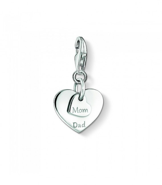 Charm Thomas Sabo Corazones Mom-Dad 1452-001-21