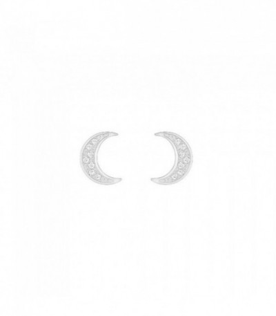 Pendientes Crystal Wishes Moon, blanco 5278383