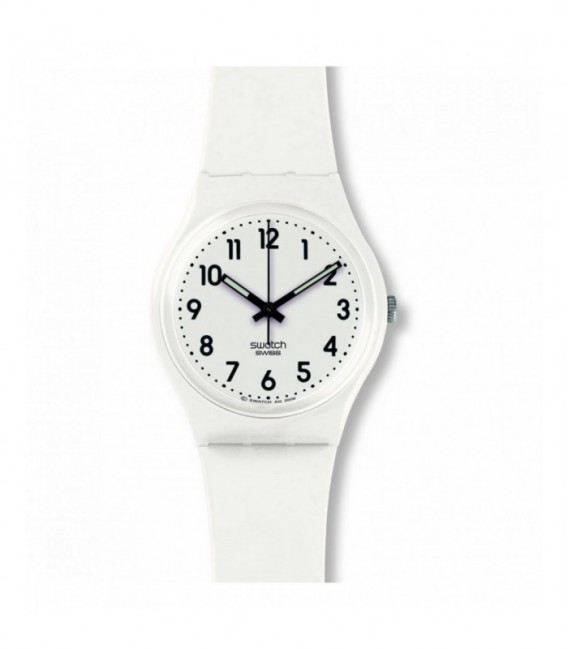 Reloj Swatch - Just White Soft GW151O