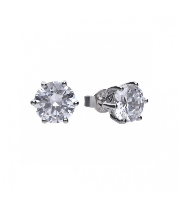 Pendientes Diamonfire Solitarios Con Engaste De Garra - 8 Mm 6210111082