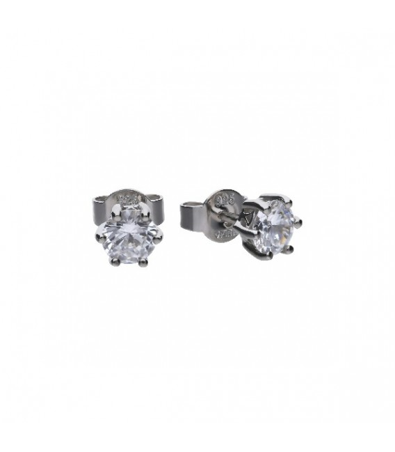 Pendientes Diamonfire Solitarios Con Engaste De Garra - 5 Mm 6212671082