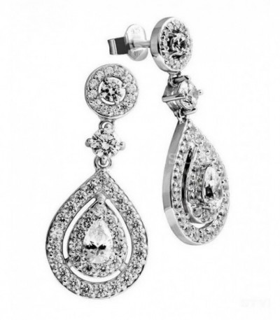 Pendientes Diamonfire Colgantes Brilliant 6215551082