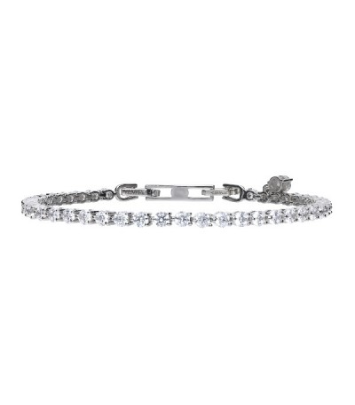 Pulsera Diamonfire Eternities En Plata 6403341006