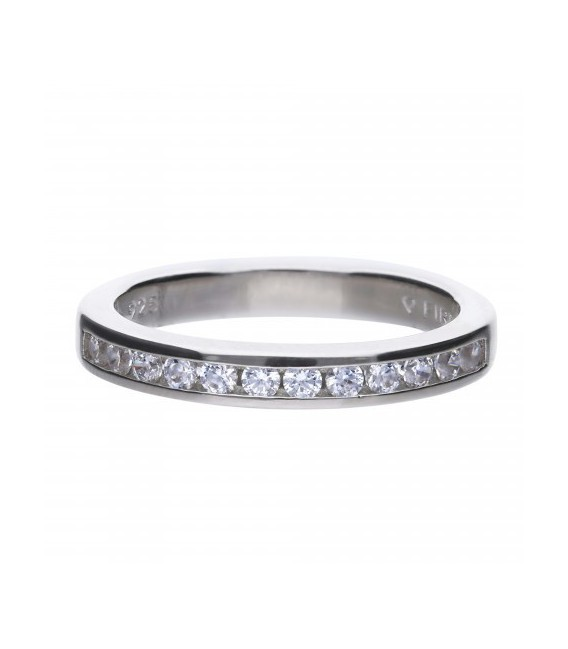 Anillo Diamonfire Eternidad Con 12 Circonitas De 2 Mm 6117931082160