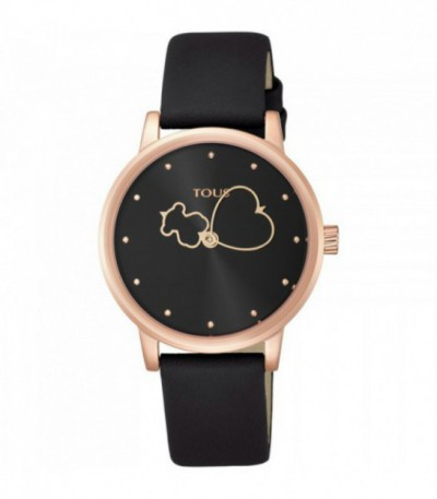 Reloj Tous Bear Time Black&Rose 800350920