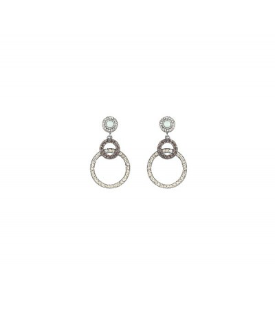 Pendientes Sunfield Cava & Brown PE061205