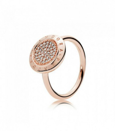 Anillo Pandora Rose Signature 180912CZ-54
