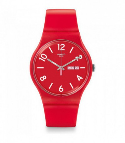 Reloj Swatch Back Up Red SUOR705