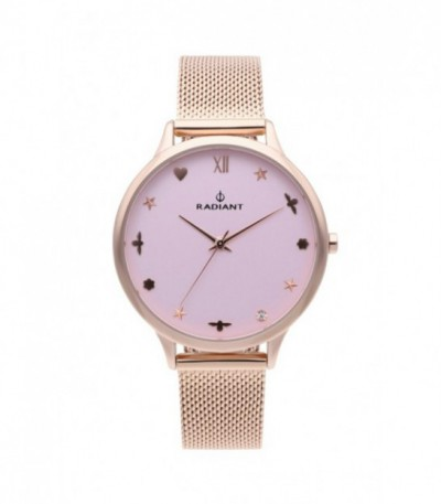 Reloj Radiant Grace Pink Rose Gold RA489602