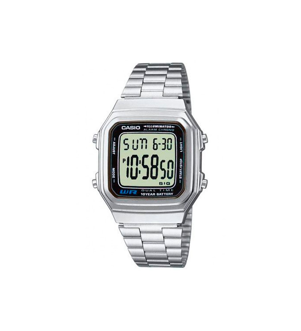 580962659e81 Reloj Casio Collection Digital Dual Time A178WEA-1AES - Montenegro