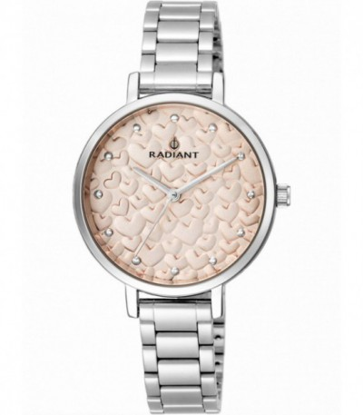 Reloj Radiant Romance Rose-Gold Hearts RA431606