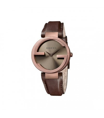 Reloj Gucci Interlocking Marrón YA133309