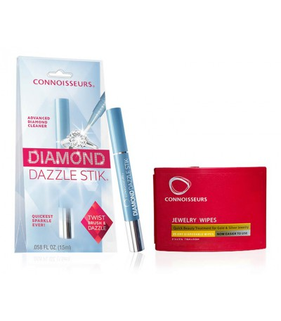 Pack Jewellery Beauty Wipes + Diamond Dazzle Stik
