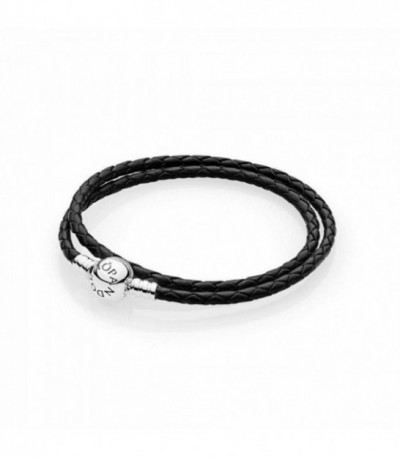 Pulsera Pandora Moments Cuero - 590745CBK
