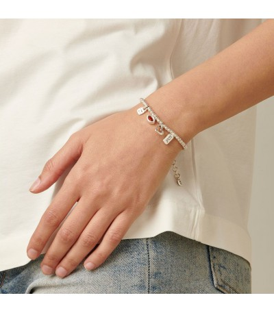 Pulsera UNOde50 Im Waiting For You PUL1852ROJMTL0M