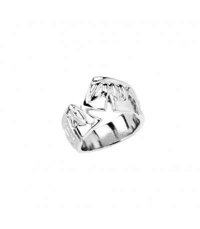 Anillo UNOde50 Feather in the Breeze - ANI0620MTL000