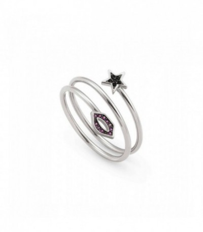 Anillo Nomination Sweetrock Lips&Star 148011/038
