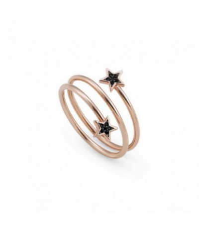 Anillo Nomination Sweetrock Black Stars 148011/033