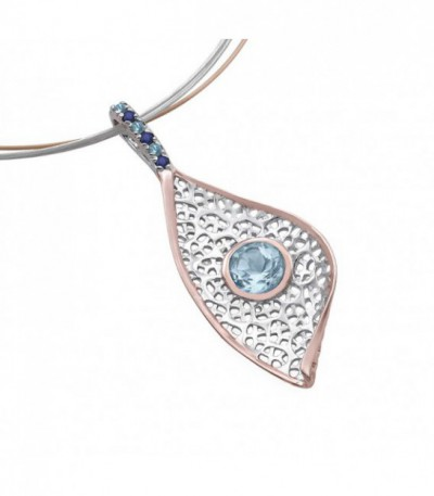 Collar Jorge Revilla Blue Eye CG-120-5344TR
