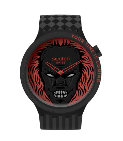 Reloj Swatch Your Time Is Coming SB01B128