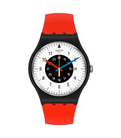 Reloj Swatch Rouge and Noir SO32B401